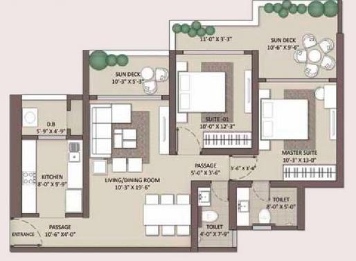 Residential Multistorey Apartment for Sale in Ariisto Heaven, Off. LBS Marg, Swapna Nagar, Near Veena Nagar , Mulund-West, Mumbai