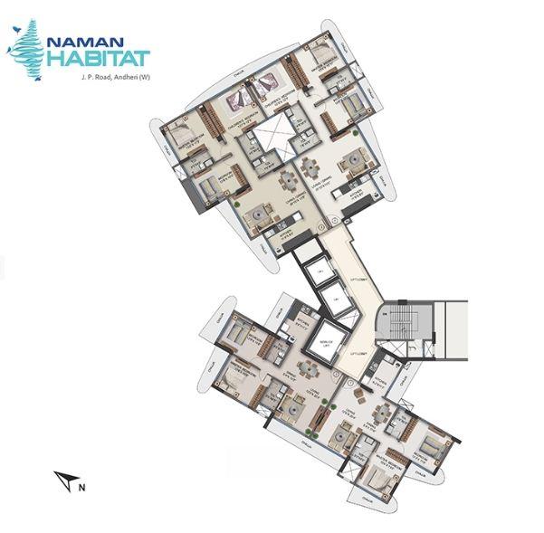 Residential Multistorey Apartment for Sale in JP Road, Sahayog Nagar , Andheri-West, Mumbai