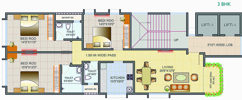 Residential Multistorey Apartment for Sale in Opposite SICS School , Matunga-West, Mumbai