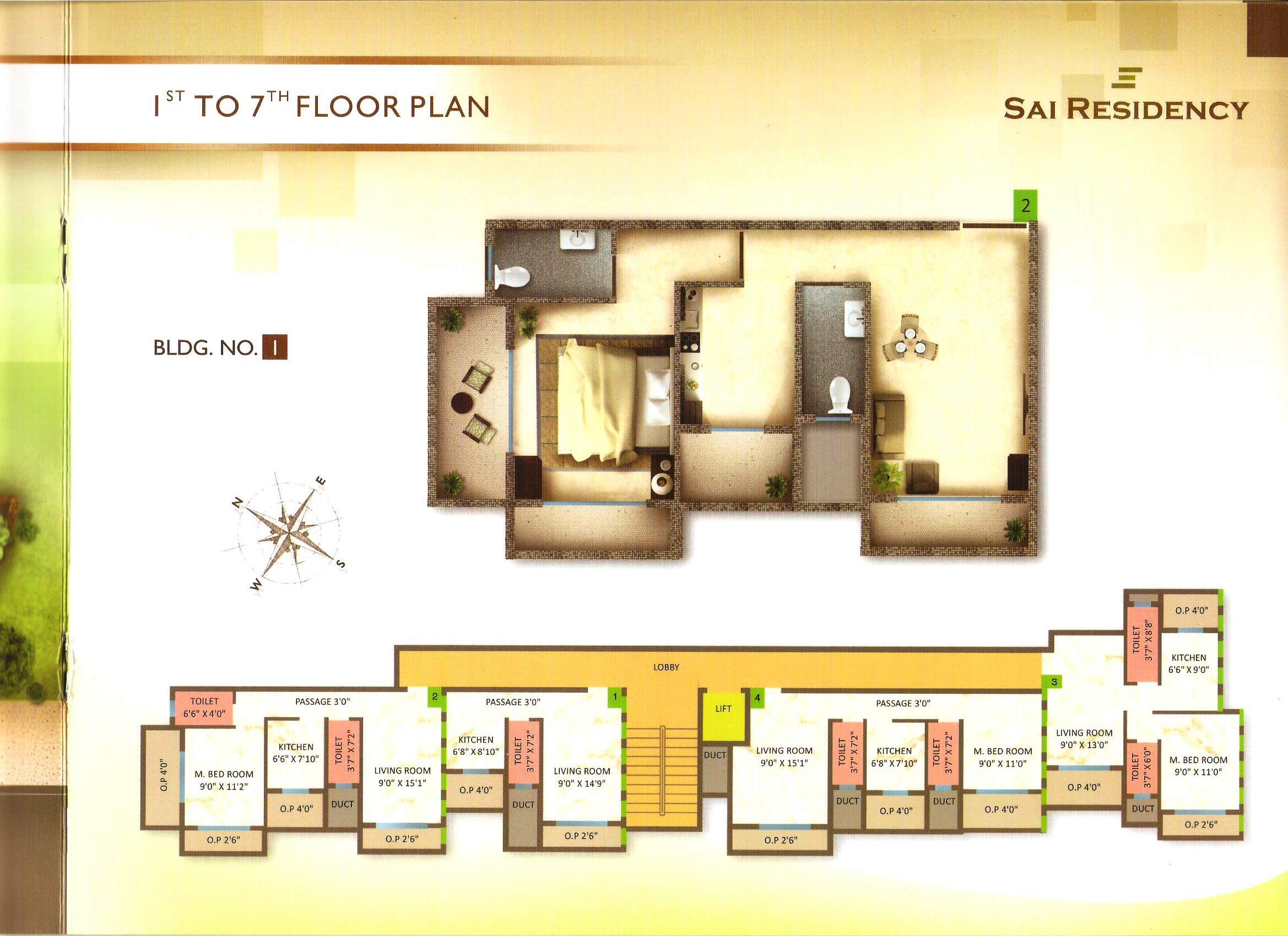 Residential Multistorey Apartment for Sale in Survey No 19/2,Pale , Ambernath-West, Mumbai