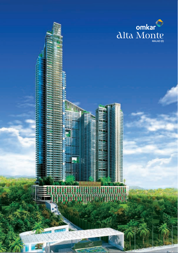Residential Multistorey Apartment for Sale in Omkar Alta Monte, On West , Malad-West, Mumbai