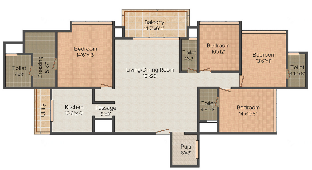 Residential Multistorey Apartment for Sale in LBS Marg, Near Johnson & Johnson , Mulund-West, Mumbai