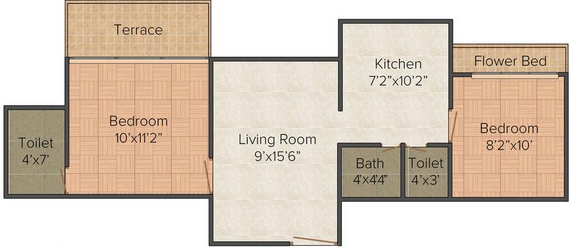 Residential Multistorey Apartment for Sale in Village Bonshet, Panvel Matheran Road , Panvel-West, Mumbai