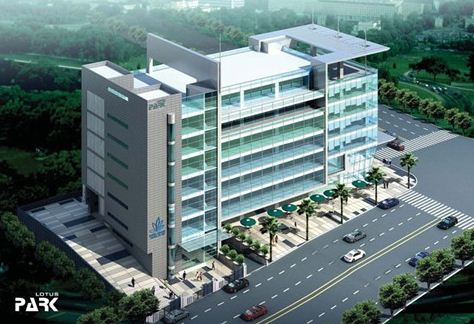 Commercial Office Space for Rent in Lotus Park, Wagle Industrial Area , Thane-West, Mumbai