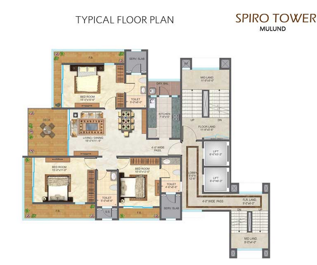 Residential Multistorey Apartment for Sale in Near Chandraganga Hospital, V. B. Phadke Marg, Neelam Nagar , Mulund-West, Mumbai