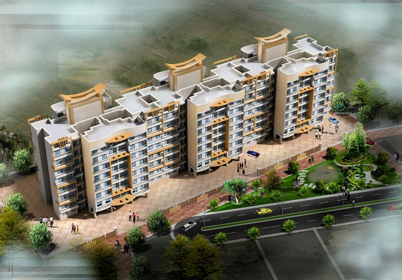 Residential Multistorey Apartment for Sale in Global City Layout, Chikhal Dongre, Nr. Global City , Virar-West, Mumbai