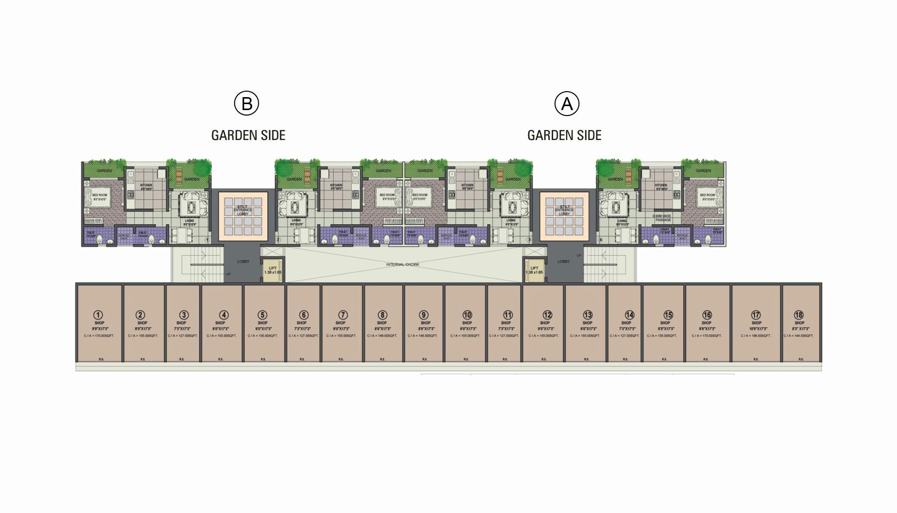 Residential Multistorey Apartment for Sale in Survey No. 118/4, Asangoan Station, Off Mumbai - Nashik Express Highway , Asangaon-West, Mumbai
