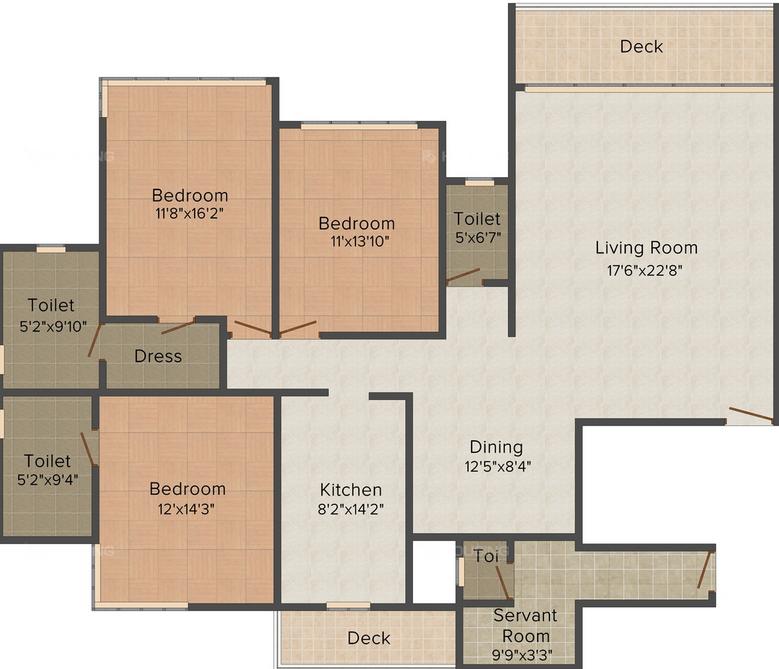 Residential Multistorey Apartment for Sale in JVLR Road, Near Powai Lake , Powai-West, Mumbai