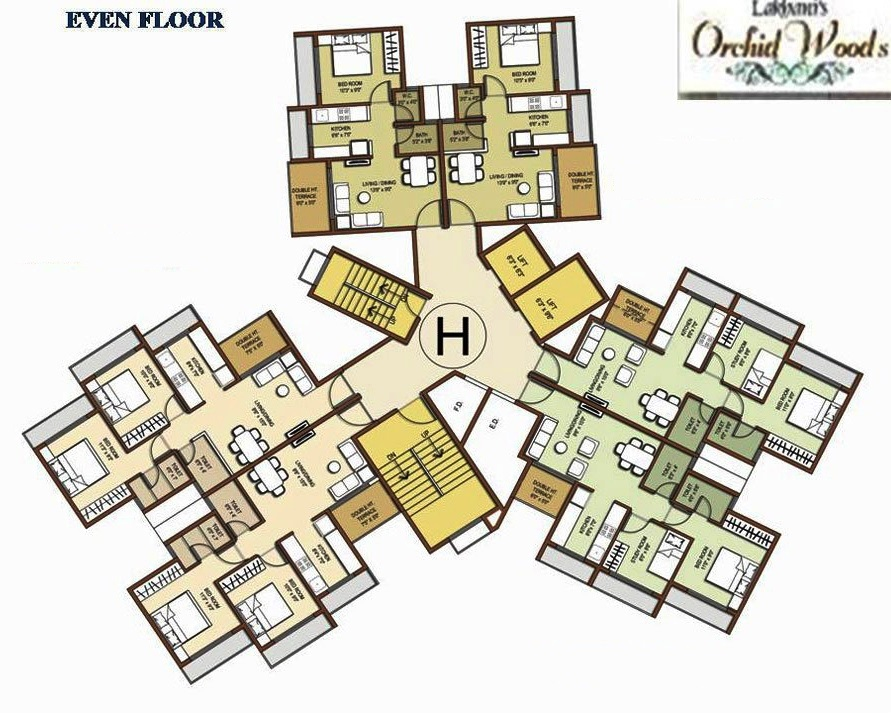 Residential Multistorey Apartment for Sale in Village Mulgaon, Taluka- Khalapur , Khopoli-West, Mumbai