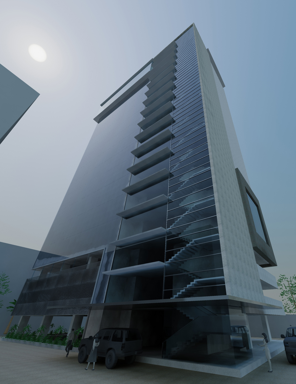Commercial Office Space for Rent in Synergy Bussiness Park Savkar Wadi Near Western Ex Opp Aarey Road, Goregaon-West, Mumbai