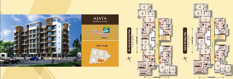 Residential Multistorey Apartment for Sale in Krishna Valley City Survey No2719-2723-2749 Near Zenith Water Fall Vihar , Khopoli-West, Mumbai