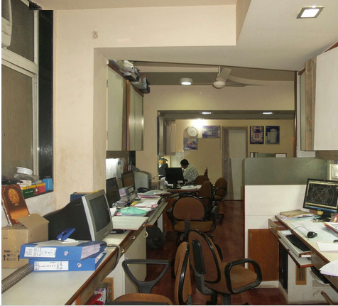 Commercial Office Space for Sale in Fully Furnished Office For Sale, Near Cadbury Company,, Thane-West, Mumbai