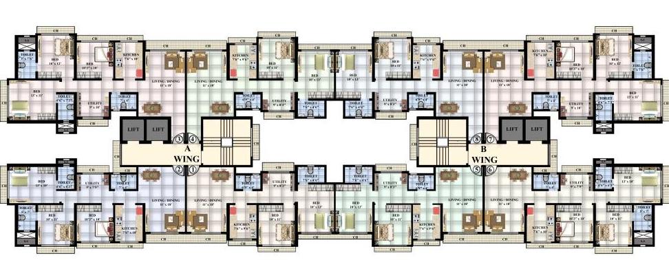 Residential Multistorey Apartment for Sale in Next to Indraprasth Tower, Jain Mandir Road, Sarvodaya Parshwanath Nagar , Mulund-West, Mumbai