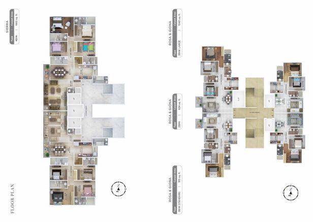 Residential Multistorey Apartment for Sale in LBS Marg, Near Vasant Oscar , Mulund-West, Mumbai