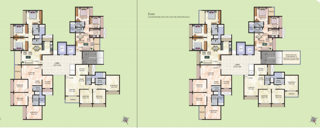 3 Bhk Multistorey Apartment Property For Sale In Near Patni