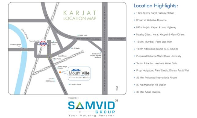 Residential Multistorey Apartment for Sale in Karjat , Karjat-West, Mumbai