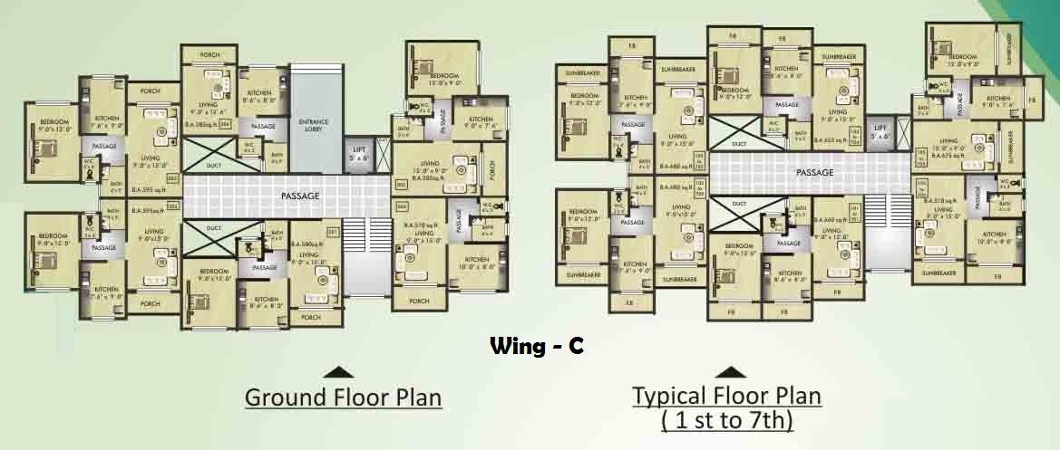 Residential Multistorey Apartment for Sale in S No. 5, H No. 17 & 18, At Village Juveli, Badlapur(E) , Ambernath-West, Mumbai