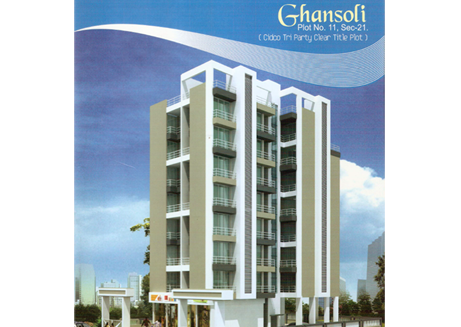 Residential Multistorey Apartment for Sale in Navi Mumbai ,Sector 19 , Ghansoli-West, Mumbai