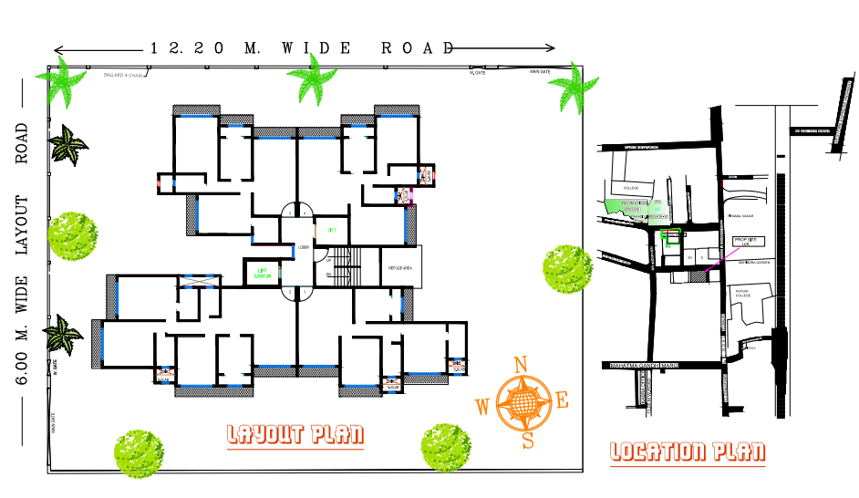 2 BHK Multistorey Apartment Property for Sale in Plot No  43-44, Near  Patkar College, Unnat Nagar - II , Goregaon West, Mumbai